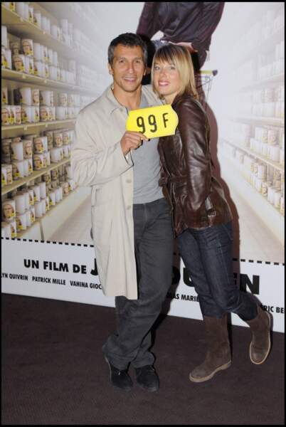 Nagui et Mélanie Page (2007)