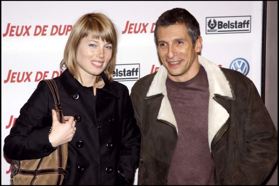 Nagui et Mélanie Page (2008)