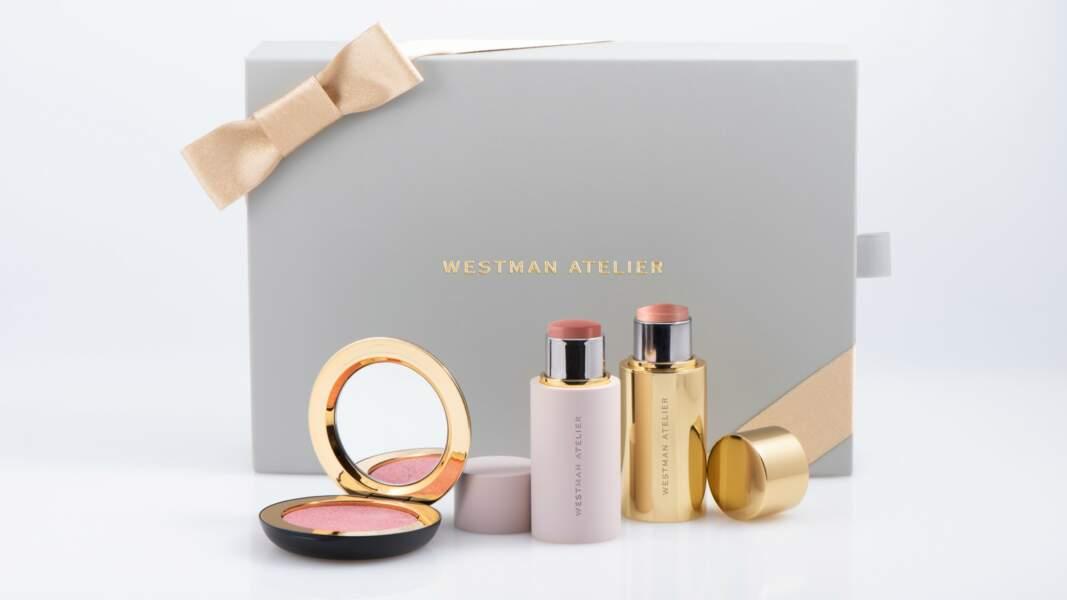 La Box Holiday Edition, Westman Atelier, 186 € au Bon Marché Rive Gauche, chez Dover Street Parfums Market, sur net-a-porter.com et niche-beauty.com