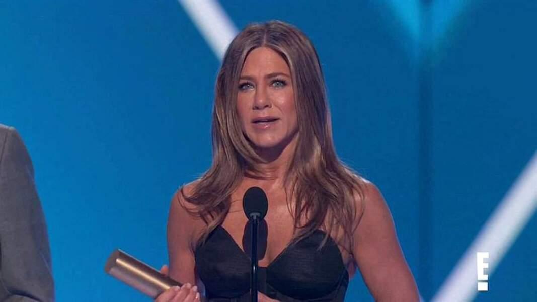 Jennifer Aniston, adepte des cheveux longs depuis toujours.