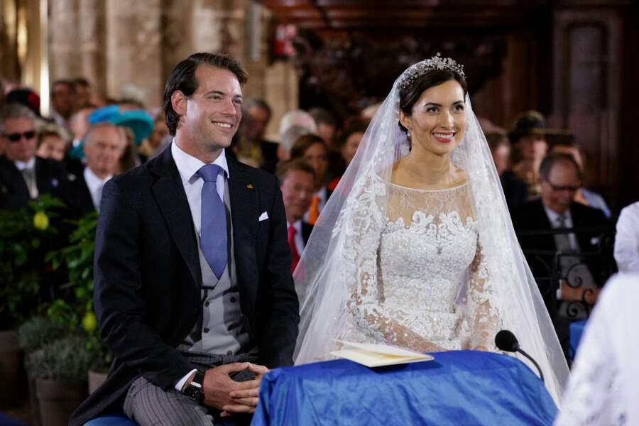 Mariage religieux du Prince Felix de Luxembourg et Claire Lademacher en la basilique Sainte-Marie-Madeleine de Saint-Maximin-la-Sainte-Baume en France, le 21 septembre 2013