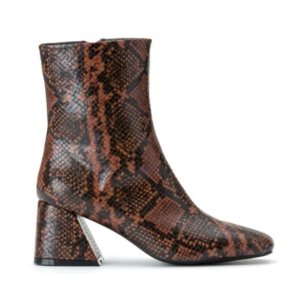 Boots effet Python, La Redoute, 69,99 €.