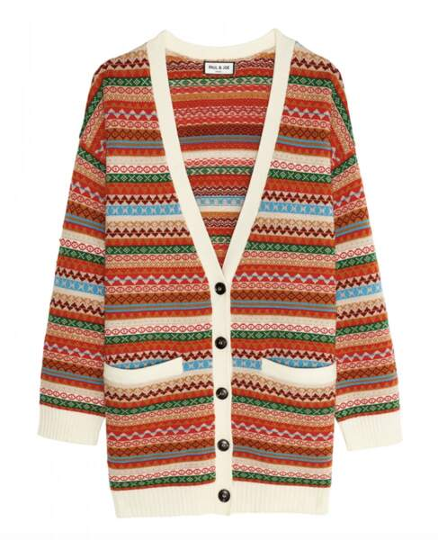 Cardigan , 495 €, Paul & Joe.