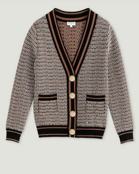 Cardigan, 225 € Claudie Pierlot.