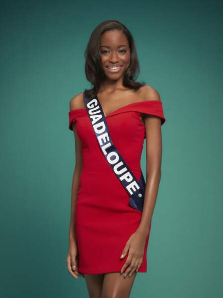 Miss Guadeloupe : Kenza Andreze-Louison