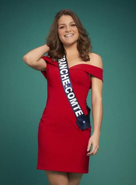 Miss France-Comté : Coralie Gandelin