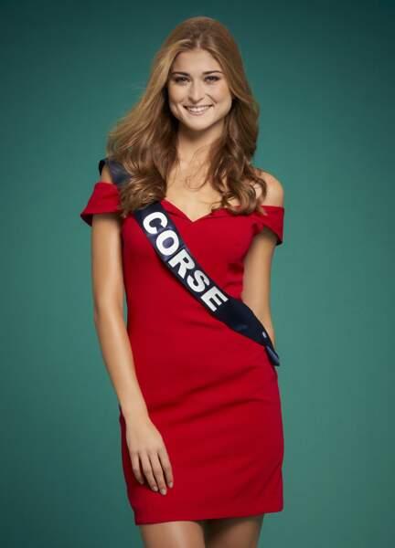 Miss Corse : Noemie Leca