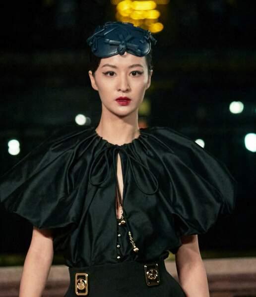 Le défilé Printemps-Eté 2021 de Lanvin lors de la fashion week SS21