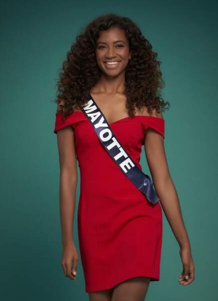 Miss Mayotte : Anila Charifa
