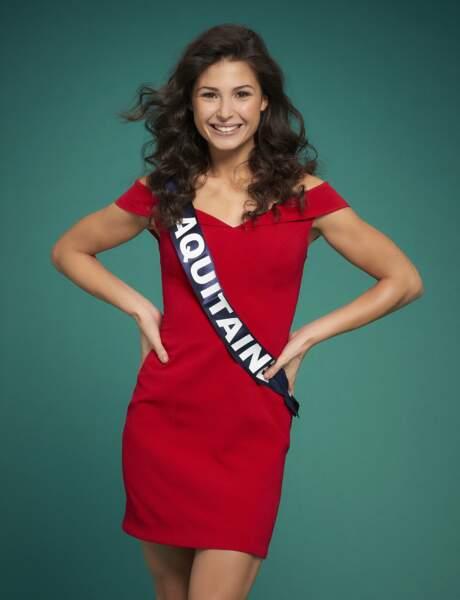 Miss Aquitaine : Leila Veslard