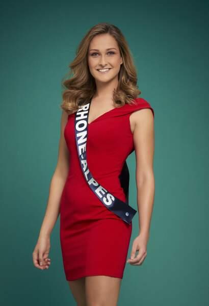 Miss Rhône-Alpes : Anais Roux