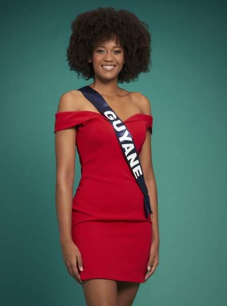 Miss Guyane : Heleneschka Horth
