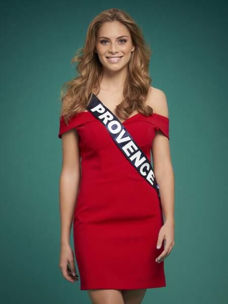 Miss Provence : April Benayoum