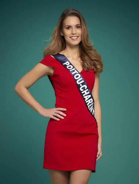 Miss Poitou-Charentes : Justine Dubois
