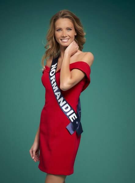 Miss Normandie : Amandine Petit
