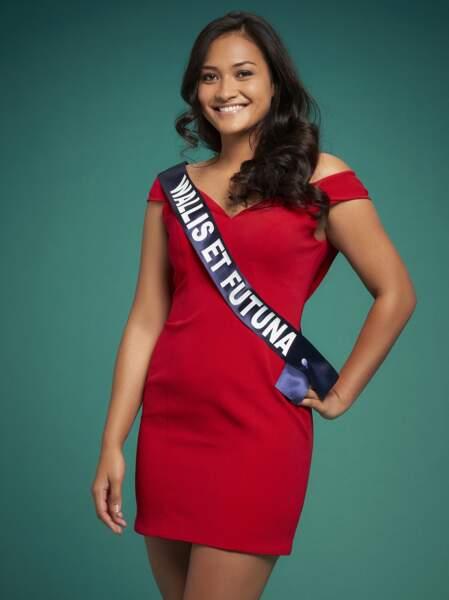 Miss Wallis-Et-Futuna : Mylene Halemai