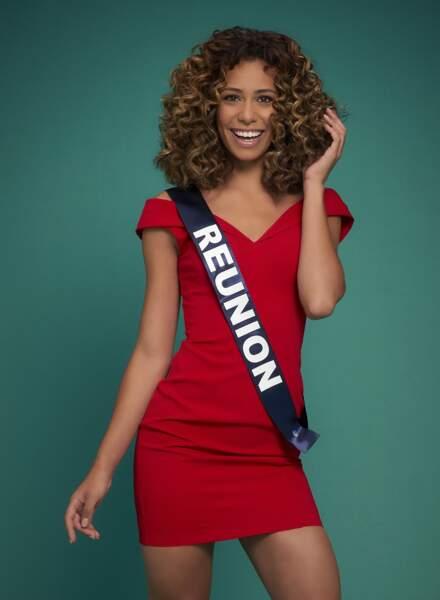 Miss Réunion : Lyna Boyer