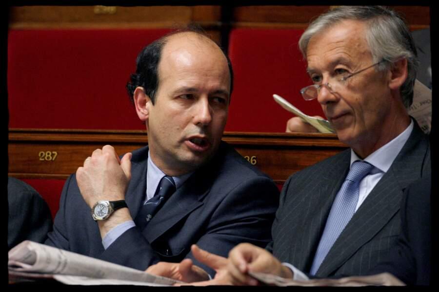 Le fils cadet de Valéry Giscard d'Estaing, Louis, s'est lancé en politique. Ici à l'Assemblée nationale en 2008.