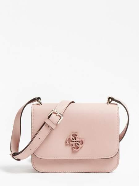 Mini sac à bandoulière en simili-cuir - Guess, 85 €