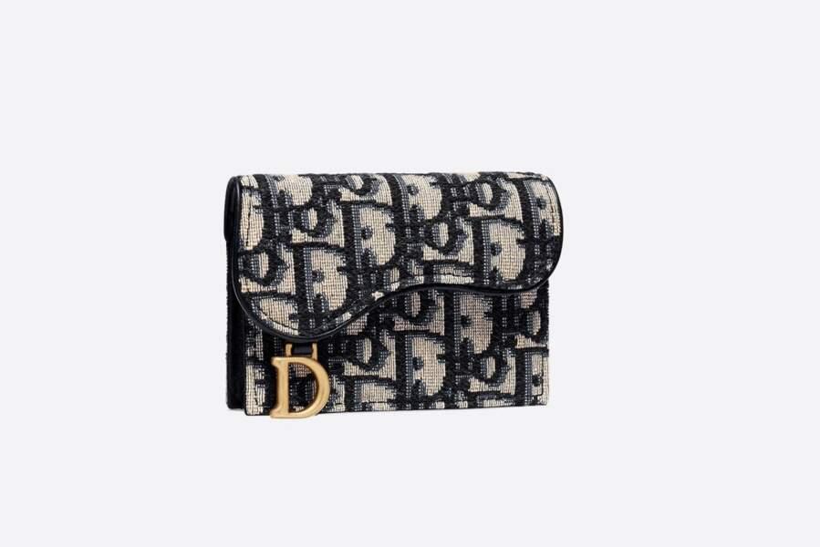 Porte-cartes à rabat Saddle - Dior, 320 €