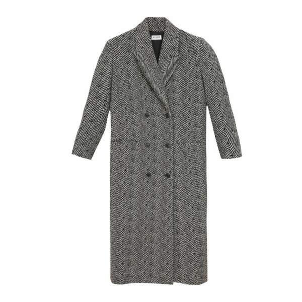 Manteau en lainage chevrons - Musier, 340 €