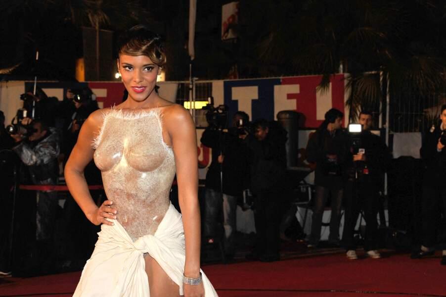 Shy'm aux NRJ Music Awards 2012