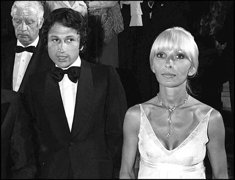 Depuis leur mariage en 1973, Michel Drucker et sa femme, l'actrice Dany Saval, ne se sont jamais quittés.