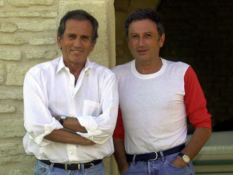 Michel Drucker et son frère, Jean Drucker (décédé en 2003).