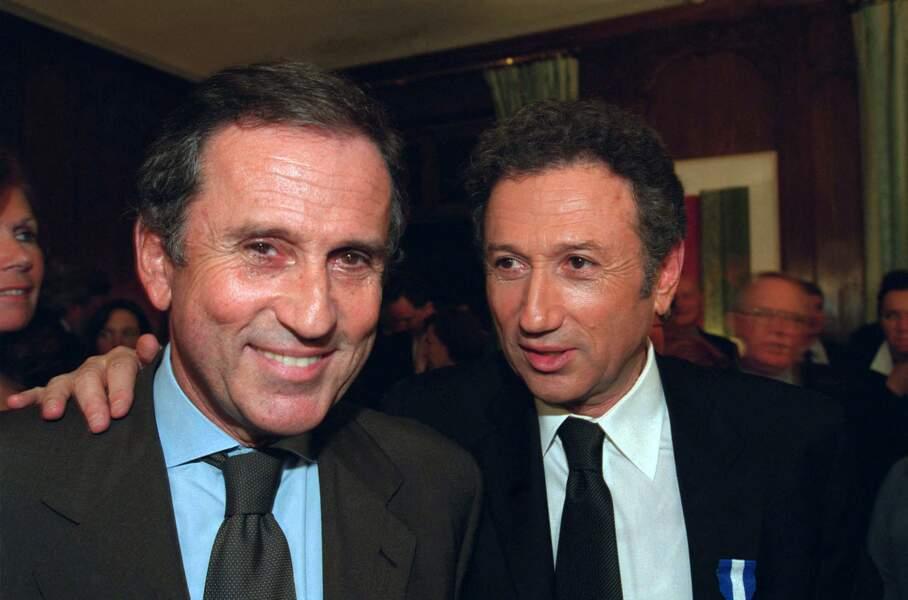Michel Drucker et son frère, Jean Drucker, deux ans avant sa disparition.