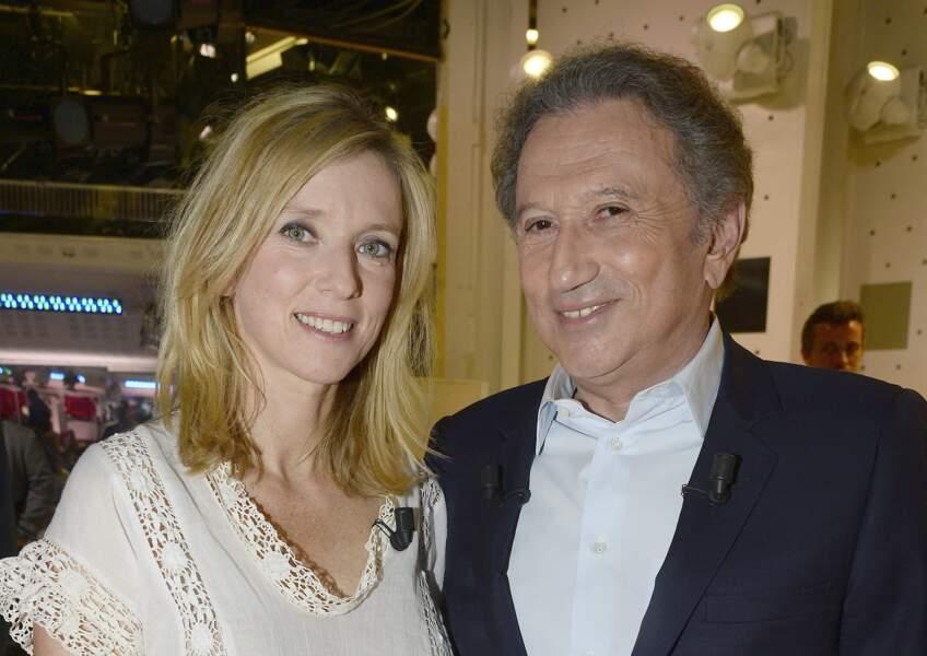 S'il est proche de Marie, Michel Drucker n'en oublie cependant pas son autre nièce, Léa Drucker.
