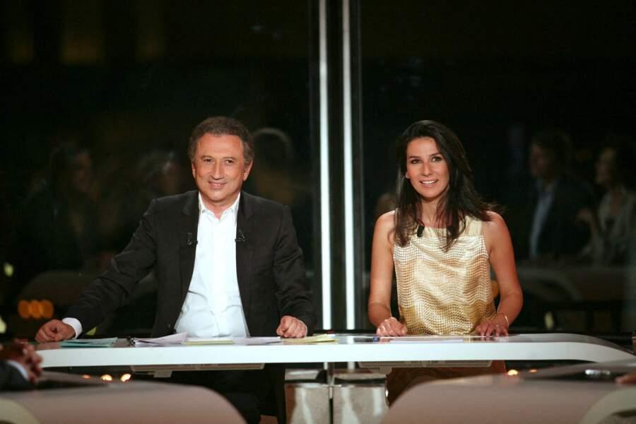 Michel Drucker et sa nièce Marie Drucker, en 2009.