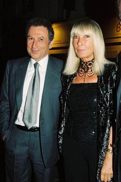 Michel Drucker et Dany Saval, un couple soudé.