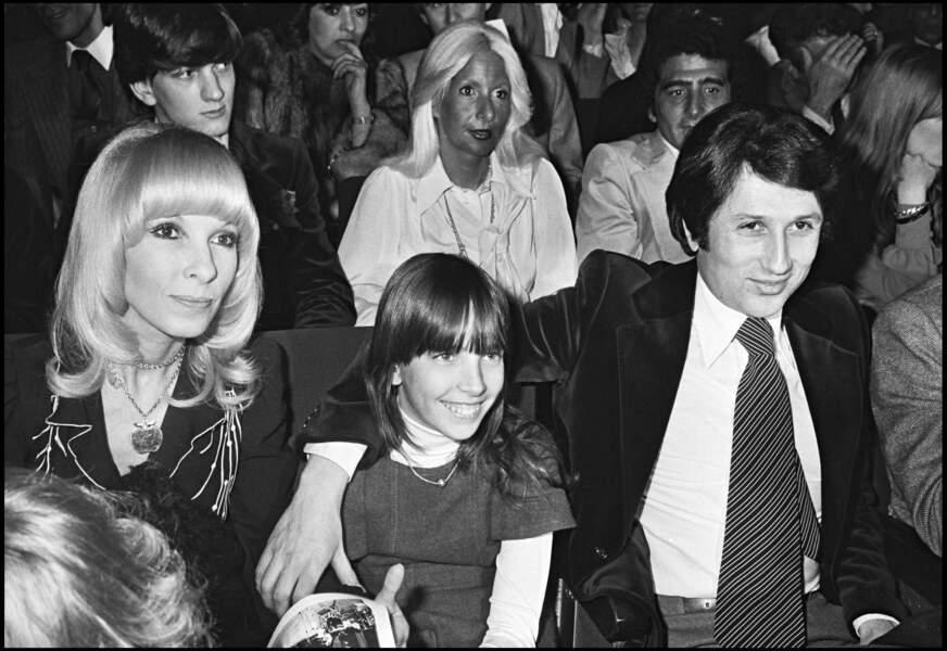 Michel Drucker a toujours été très proche de sa belle-fille, Stéphanie, fruit de l'union entre Dany Saval et Maurice Jarre (ici, en 1977).
