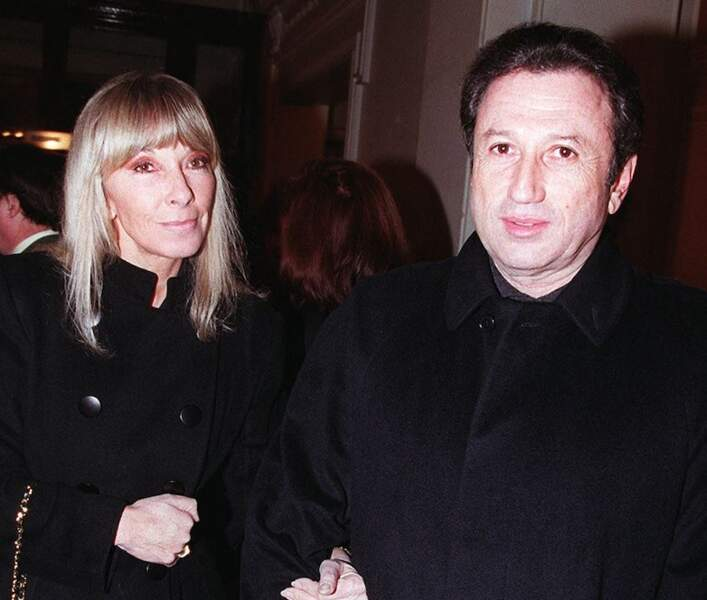 Avec Dany Saval à ses côtés, Michel Drucker a traversé toutes les tempêtes.