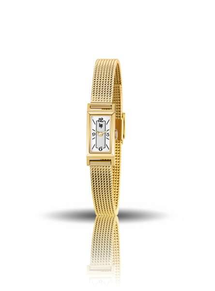 Montre churchill dorée, 199€, Lip