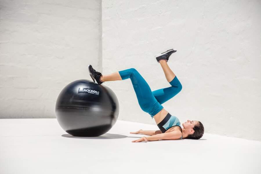 Une balle de gymnastique Blackroll