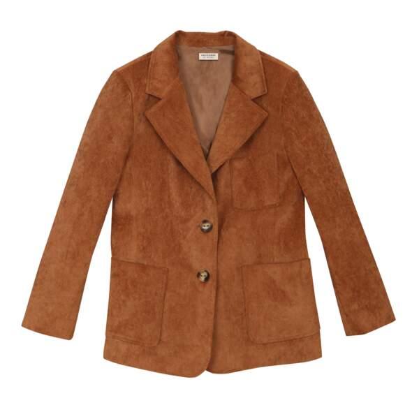 Veste en velours côtelé, 145€, Parisienne et alors