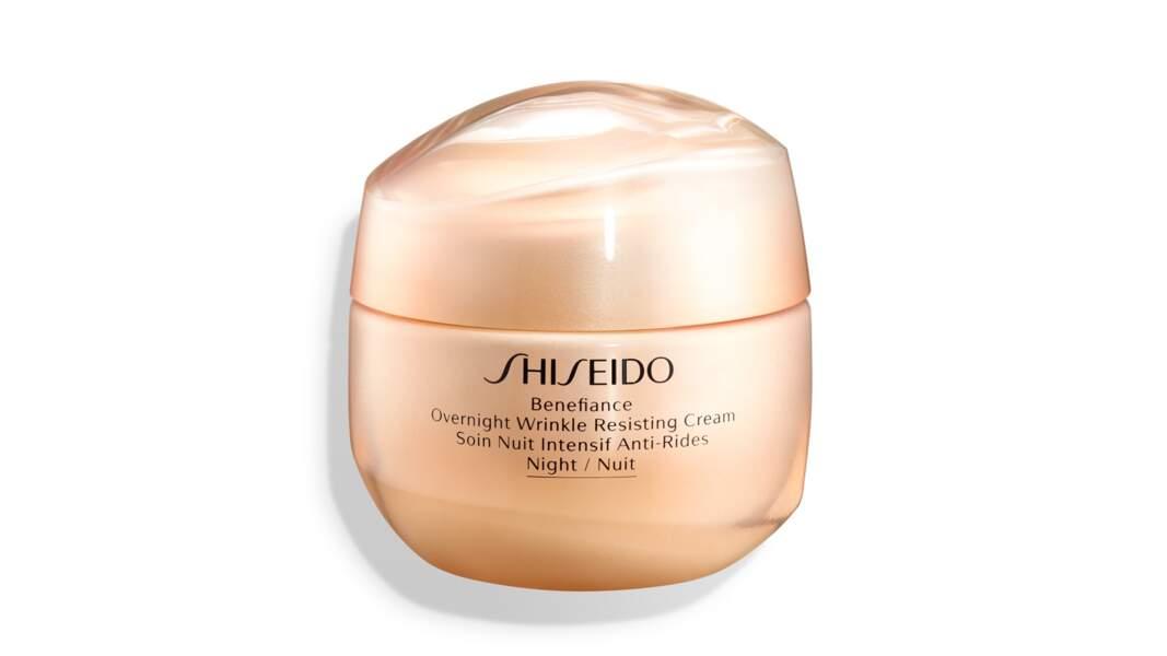 Benefiance Soin de Nuit Intensif Anti-Rides, Shiseido, 99 €