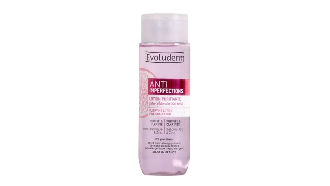 Lotion Purifiante Anti-Imperfections, Evoluderm, 4,50 €