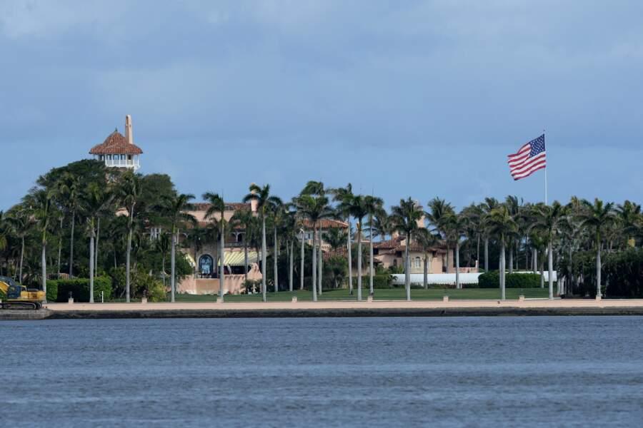 Le club privé de luxe Mar-a-Lago se trouve à Palm Beach, en Floride. Il a été fermé pendant la pandémie de coronavirus.
