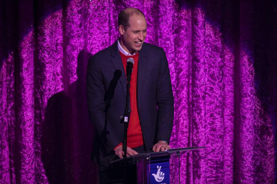 Le prince William a donné un discours en l'honneur des personnes mobilisées pendant la pandémie