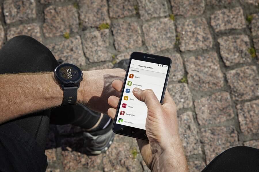 Une montre connectée Suunto 7 pour les sportifs aguerris