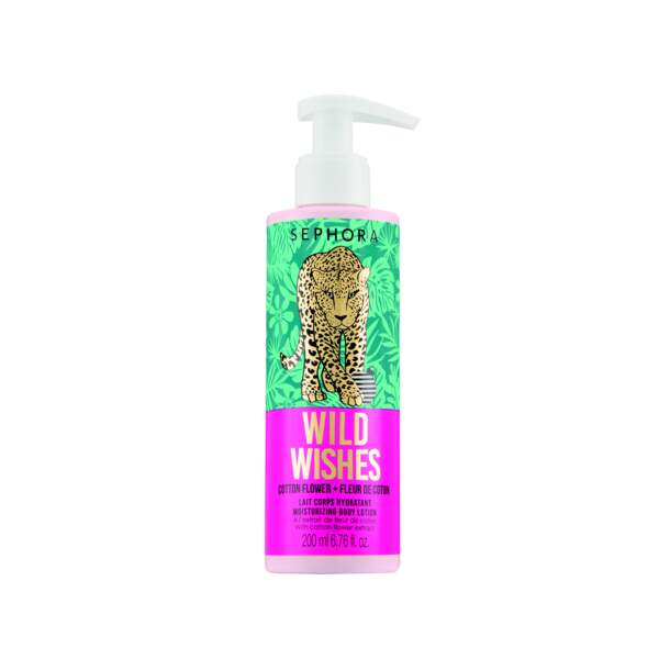 Lait corps Wild Wishes, Sephora Collection, 6,99€.