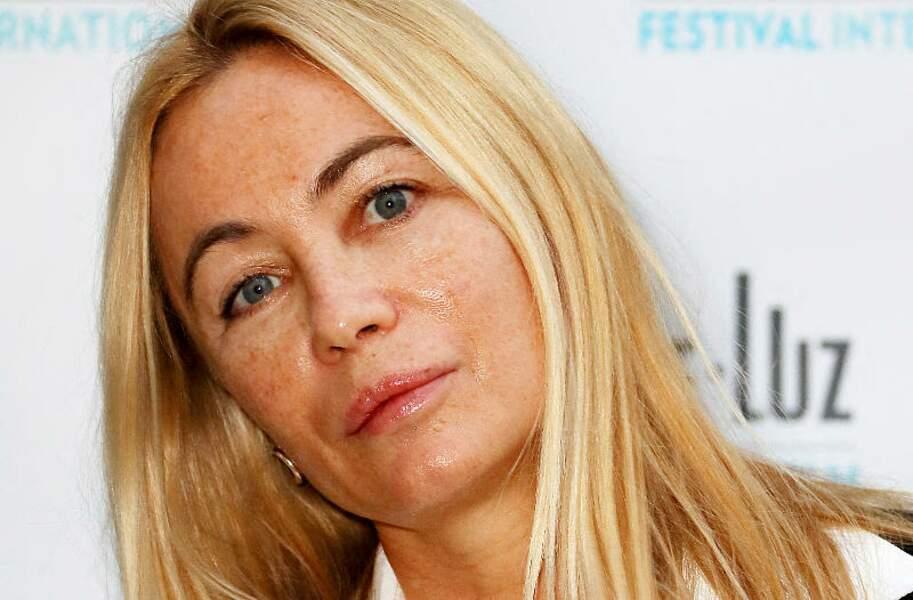 Emmanuelle Béart, adepte du blond froid depuis presque toujours.