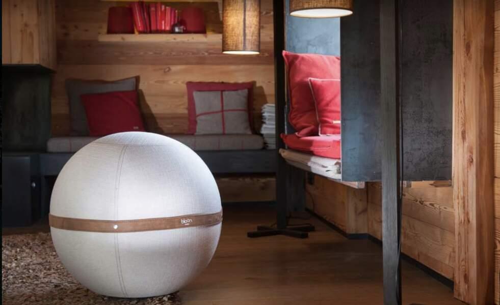 Un ballon canon Bloon pour une assise parfaite en télétravail