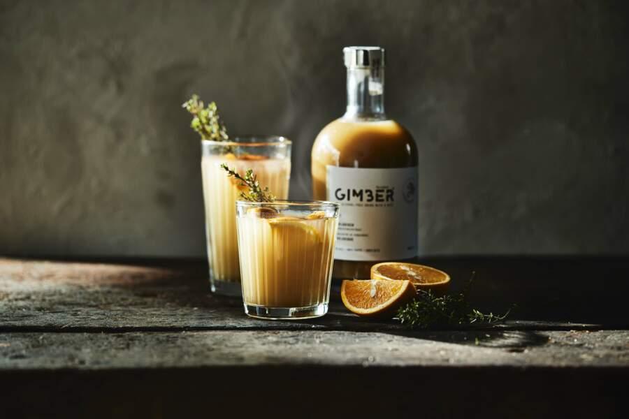Une boisson au gingembre 100% bio Gimber