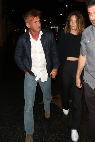 Sean Penn et Leila George