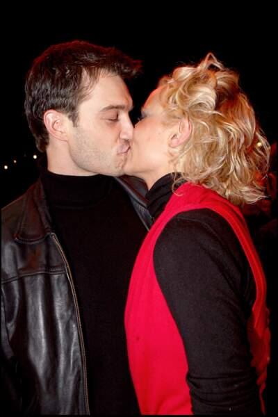 Elodie Gossuin et son mari Bertrand Lacherie plus amoureux que jamais au cirque Alexis Gruss en 2007.