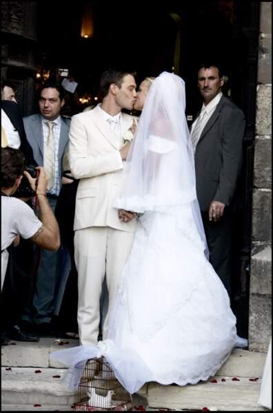 """Elodie Gossuin et Bertrand Lacherie se sont dit """"oui"""" pour la vie."""
