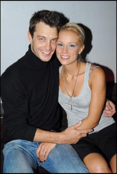 Elodie Gossuin et Bertrand Lacherie, heureux mariés à l'inauguration d'une boutique.